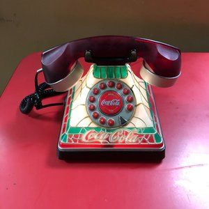 Vintage Coke Coca Cola Light Up Phone